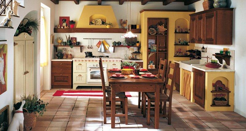 Idee cucine classiche 2015 arredamento casa e cucina a - Arredamento casa rustica ...