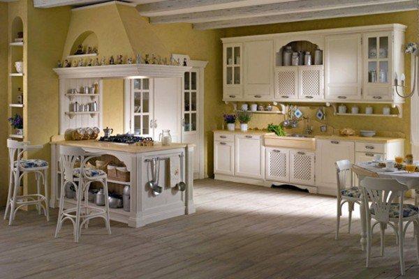 Arredamenti moderni country e classici per tutta la casa for Arredamento cucina country