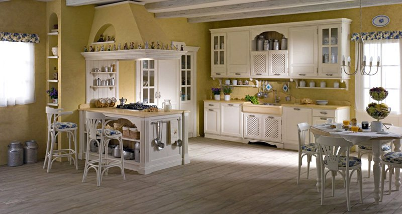 Arredamento cucine country hd25 pineglen for Arredamento cucina country