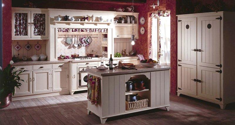 Regole per arredare una Cucina dal gusto Country | Arredamento ...