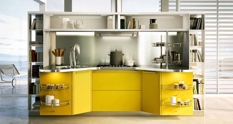 Arredamento Casa Cucine. Cucina Kitchen Scavolini Living Soggiorno ...