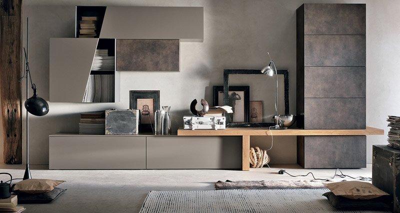 Novit soggiorni moderni 2015 arredamento casa e cucina for Arredo casa firenze