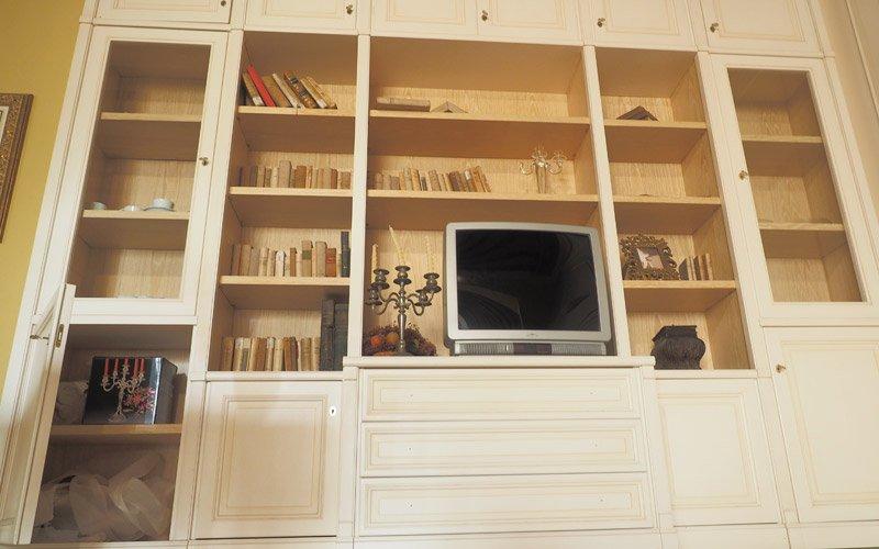 Libreria louvre offerta libreria a prezzo outlet for Complementi arredo cucina