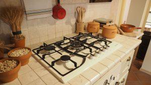 Cucina Modello Casale Castagno Scuro